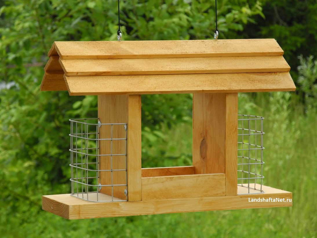 Как сделать кормушку для птиц своими рукам схема